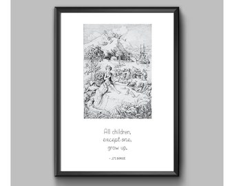 Print - Peter Pan - All Children