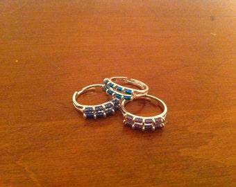 Jewel Bead Rings
