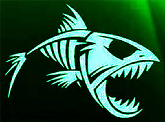 Mad fish outdoor vinyl decal sportmans decal by for Bootsaufkleber design
