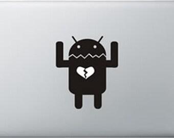 Android Macbook sticker