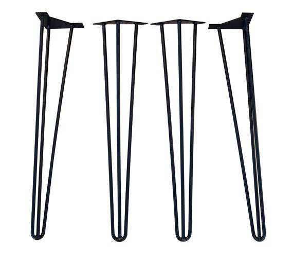 16 inch 3 rod hairpin legs ships within 2 hrs hairpin leg for Coffee tables 16 inches high