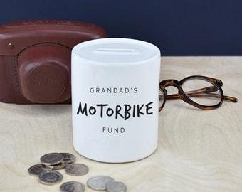 Grandad's Personalised Money Box - Grandfather Gift - Gift For Grandfather - Grandpa Gift - Gift From Grandkids  [MBX001]