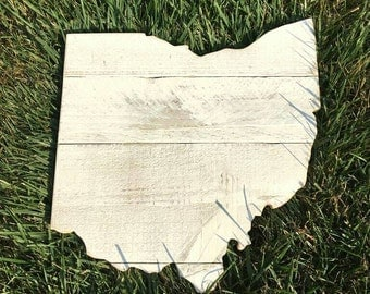 Ohio Sign - Reclaimed Wood - Made to Order