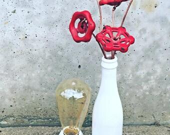 Valve Handle Boquet Lamp