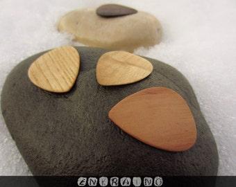 Custom GUITAR PICKS/Guitar pick/Personalized guitar pick/Guitar picks personalized/Guitar pick custom/Wooden guitar pick/Wooden picks/Gift
