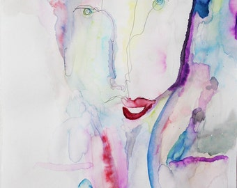 Contour Watercolor