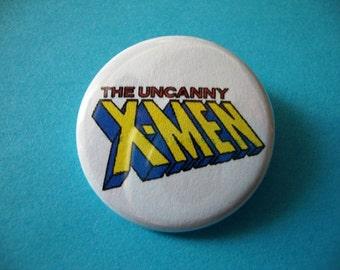 X-Men Pinback or Magnet