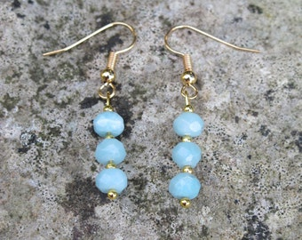 Gorgeous Amazonite Occasion Earrings