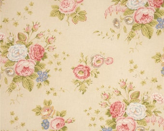 Bonbon Bebe French Inspired  Floral Quilt Fabric Robyn Pandolph RJR  By the Yard