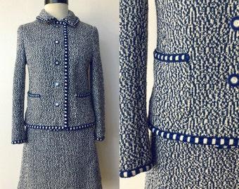 1960's Bergdorf Goodman Mod Knit Set