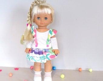 Jesmar vinage doll, nice blond hair doll with growing hair, 80's doll, girl doll