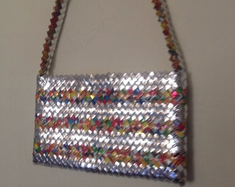 Vintage Mexican Candy Weapper Purse