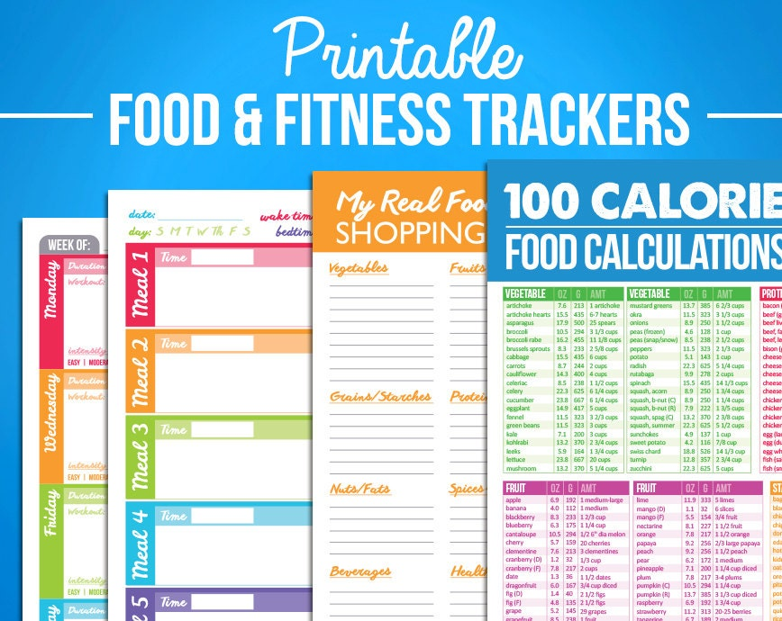Adorable image with printable food calorie chart pdf