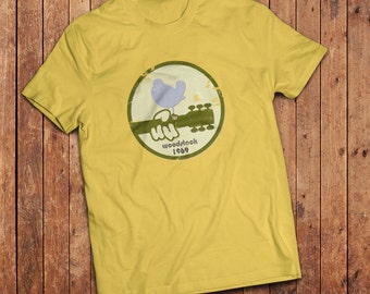 Woodstock T-Shirt, inspired by the classic 1969 Woodstock Festival