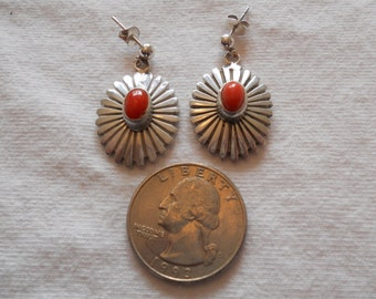 Sterling Silver and coral