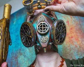 The Valkyrie - Officer Issue Steampunk Respirator Mask
