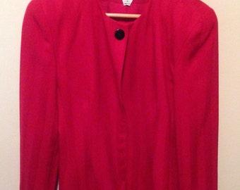 Vintage 1980s Christian Dior Suit Jacket