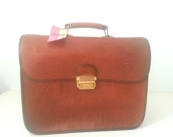 Maleta marrón vintage/vintage brown bag