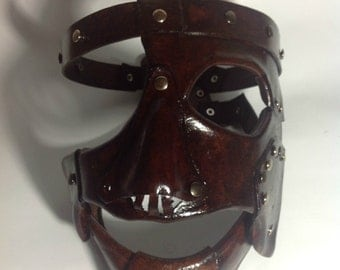 Leather Mankind Mask Replica