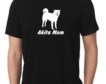 Akita Mom T-Shirt ken T384