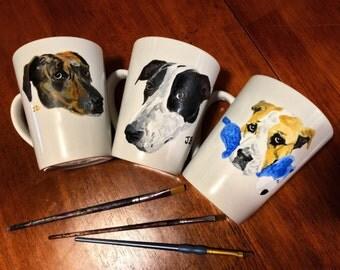 Pet Portrait Coffee Mug