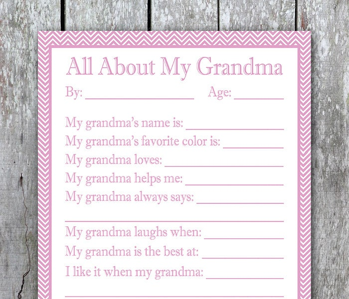 Insane image intended for all about my grandma printable