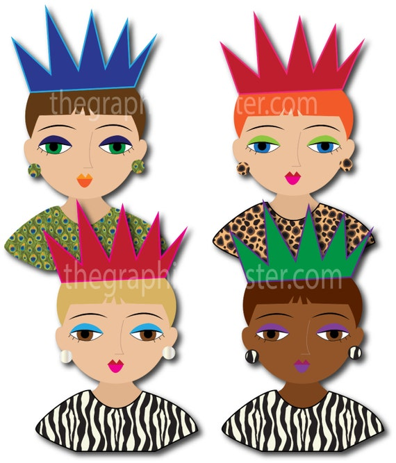queen clipart digital cut outs clip art digital queen rh etsystudio com queen clipart crown queen clipart black and white