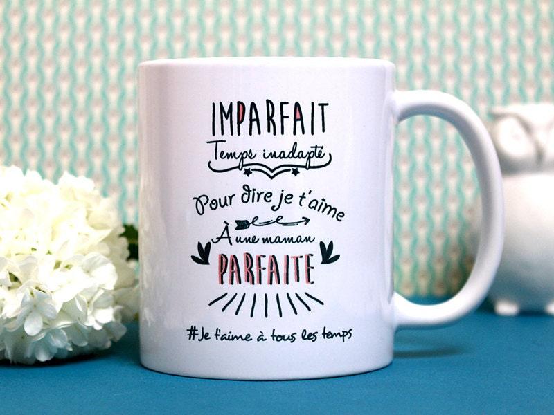 mug maman parfaite tasse personnalisable cadeau. Black Bedroom Furniture Sets. Home Design Ideas