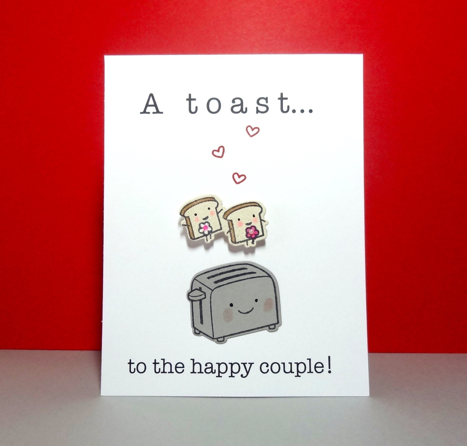 Wedding Shower Gift Ideas For Gay Couple : Lesbian Wedding Card LGBT A Toast to the Happy Couple Gay