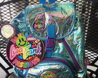 Vintage 90's Lisa Frank backpack! NEW WITH TAGS!