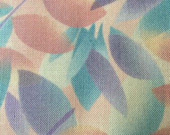 FF139 Kaufman (11 HALF yards available) Floral Fabric