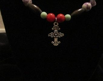 Avant Garde Cross Necklace