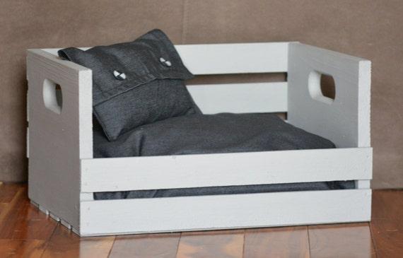 t petit lit pour chien mini 2 15 lbs chat coussin chien. Black Bedroom Furniture Sets. Home Design Ideas