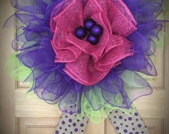 Purple sunshine Flower