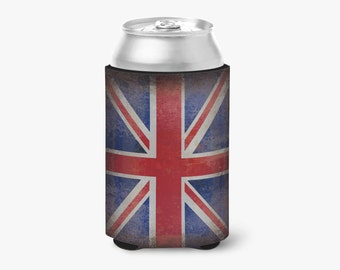 Beautiful Grunge National Pride 12oz Can cooler / Cozie For All Occasions