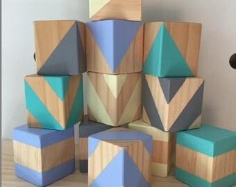 Ocean Haze - Set of 12 Large Blocks