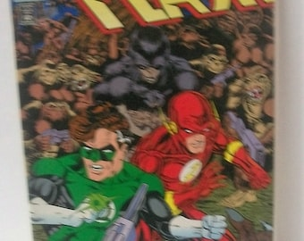 1992 Flash #70  (2nd Series)  Flash,Green Lantern, Gorilla Grodd,  VF-NM Condition Vintage DC Comic Book