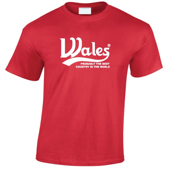 WALES Carlsberg funny T-Shirt for Men, Women, Great Gift for anyone  Welsh or just looking for a Souvenir or Gift