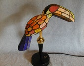 Stained Glass Lamp - Toucan