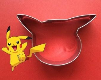 Pikachu Pokemon go Cookie Cutter Pokemon Cookie biscuit fondant mold