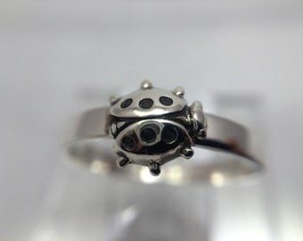 Ladybug Stackable Sterling Silver Ring on sale for only 21.00 reg 30.00