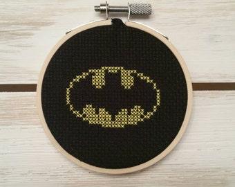 Batman | Cross Stitch