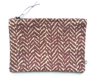 Zipper pouch medium /passportbag/storage bag/make-up bag print