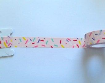 Sprinkles // Light Pink // Washi Tape // Sample // Item #WT047