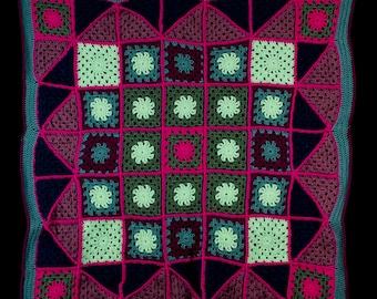 Crochet Cozy Baby Blanket