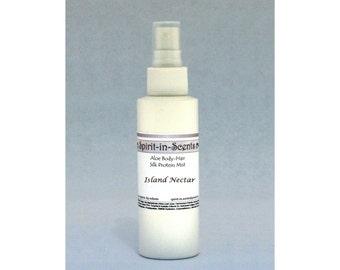 Aloe, Protein & Liquid Silk Body-Hair Mist - 4 oz.
