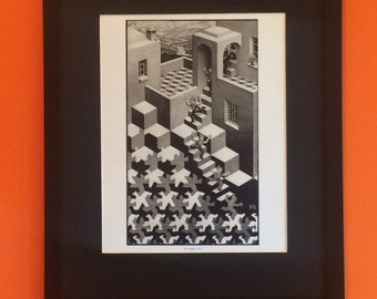 M C Escher - Cycle - Mount And Framed - 50 Cms X 40 Cms