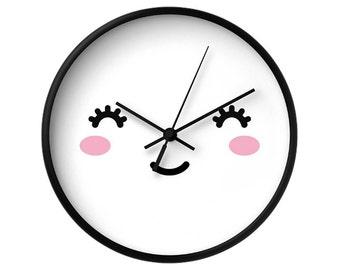 Cute Baby Clock Etsy