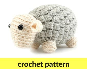 Free Crochet Pattern Farm Animals : Pineapple amigurumi pattern kawaii pineapple fruit