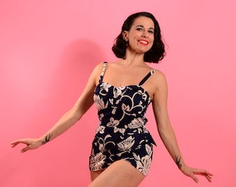 1960's Royal Hawaiian swimsuit • 60's swimsuit • Late 50's vintage swimwear